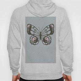 Yin Yang Zen Butterfly Hoody