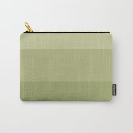 Olive striped Carry-All Pouch