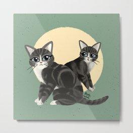 Lovely kitties Metal Print
