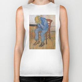 Vincent van Gogh - Sorrowing Old Man (At Eternity's Gate) Biker Tank