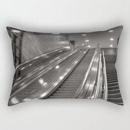Underground station - stairs - Brandenburg Gate - Berlin Rectangular Pillow