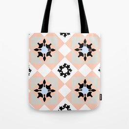 Portuguese tiles pattern vector Tote Bag