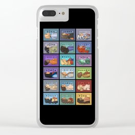She Series Collage - Version 2 Clear iPhone Case
