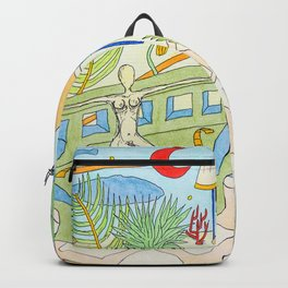 Time to go down the sun Backpack