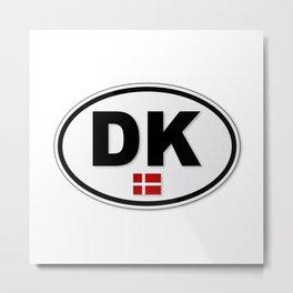 DK Plate Metal Print