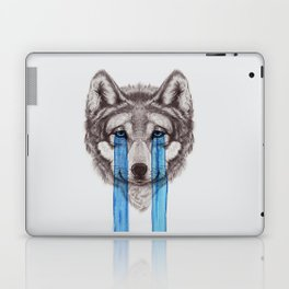 Don't Cry Wolf Laptop & iPad Skin