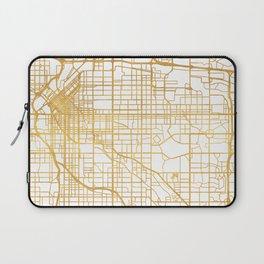 DENVER COLORADO CITY STREET MAP ART Laptop Sleeve