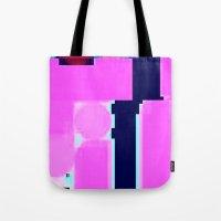 blur Tote Bags featuring Blur by allan redd