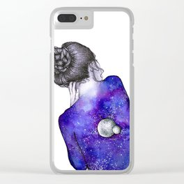 Every person is a world II Clear iPhone Case