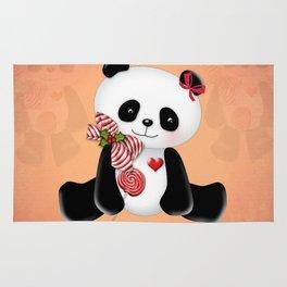 Christmas Panda Rug