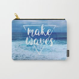 Make Waves Carry-All Pouch
