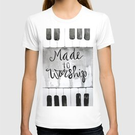 Made To Worship (tall) T-shirt