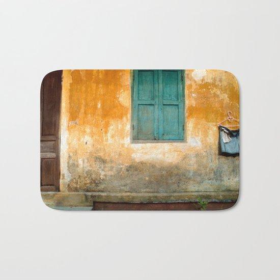 Antique Chinese Wall of Hoi An Bath Mat