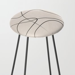 Abstract Line I Counter Stool