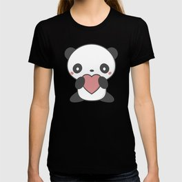 Kawaii Cute Panda Bear T-shirt