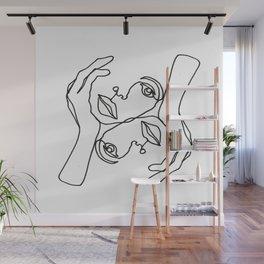 JULIE Wall Mural
