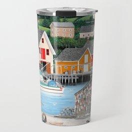 Fisherman's Cove Travel Mug