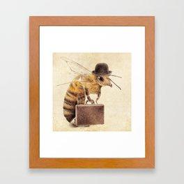 Worker Bee Framed Art Print