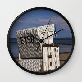 beach chair no E 150 Wall Clock
