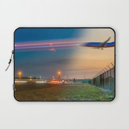 Time Traveling Machine Laptop Sleeve