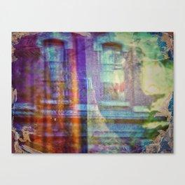 Colors city Canvas Print