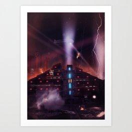 Andover Esate, Blade Runner Style Art Print