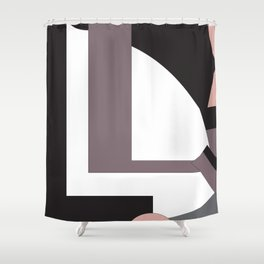 Simply black and white? Not always…. Shower Curtain