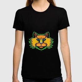 Selkirk Rex Cat Mascot T-shirt
