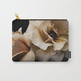 Reverence- Apricot Roses Carry-All Pouch