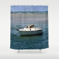 rustic Shower Curtains featuring Rustic by Chris' Landscape Images & Designs
