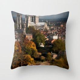York Throw Pillow