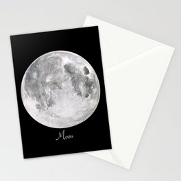 Moon #2 Stationery Cards