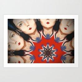 Kaleidoscope C12 Art Print