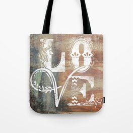 Love is beautiful Tote Bag