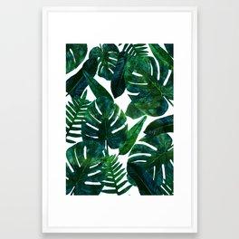 Perceptive Dream || #society6 #tropical #buyart Framed Art Print
