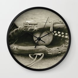 First Love 3 in Sepia Wall Clock