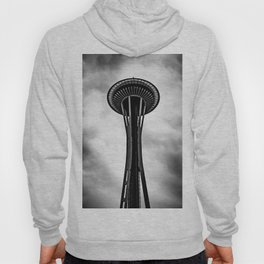 Space Needle Black and white Hoody