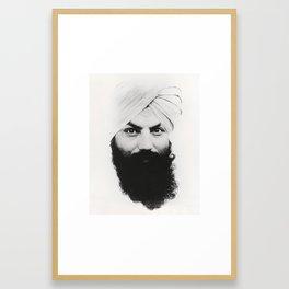 Tratakam Framed Art Print