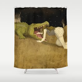 In The Mouth Of Madness Shower Curtain