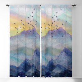 Mountain Sunrise Blackout Curtain