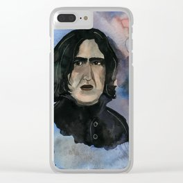 Severus Snape Always Clear iPhone Case