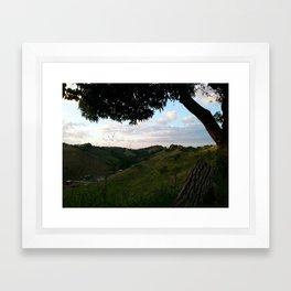 Rincon landscape Framed Art Print