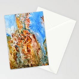 Rhaphsody modern  abstract art Stationery Cards