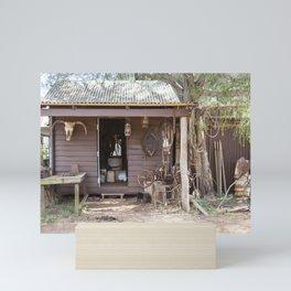 Old Timers Hut Mini Art Print