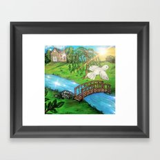 Bridge Over Troubled Waters Framed Art Print