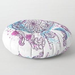 atrapasueños pink Floor Pillow