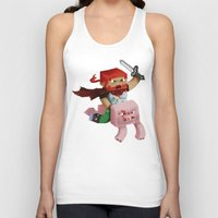 gore Tank Tops featuring Hoojo of Minecraftia - Gore Edition by Angry Adventure