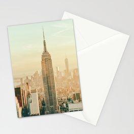 New York City Skyline Dreams Stationery Cards