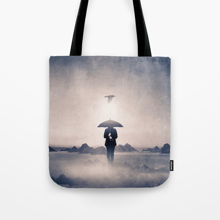 Waiting for the rain (colour option) Tote Bag