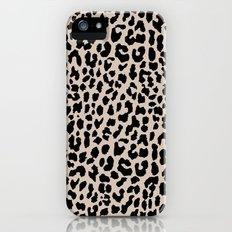 Tan Leopard iPhone (5, 5s) Slim Case